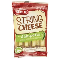 H-E-B Mozzarella with Jalapeno String Cheese