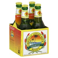 Reed's Inc. Original Ginger Brew Ginger Ale - 4 CT