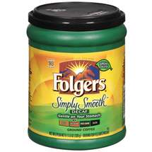 Folgers Simply Smooth Decaf Coffee