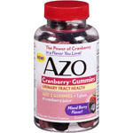 AZO Mixed Berry Cranberry Gummies Dietary Supplement