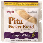 Kangaroo Simply White Pita Pocket Bread
