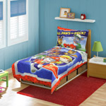 Nickelodeon Paw Patrol Ruff Ruff Rescue  4 pc Toddler Bed Set