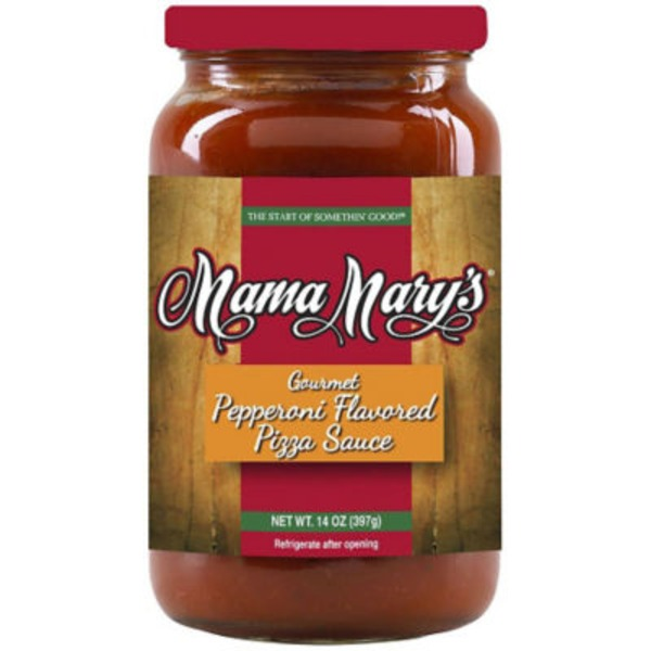 Mama Mary's Gourmet Pepperoni Flavored Pizza Sauce