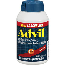 Advil Pain Reliever / Fever Reducer (Ibuprofen) 200 mg