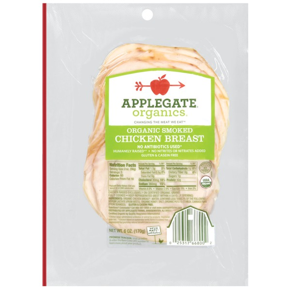 Applegate Organic Smoked Chicken Breast