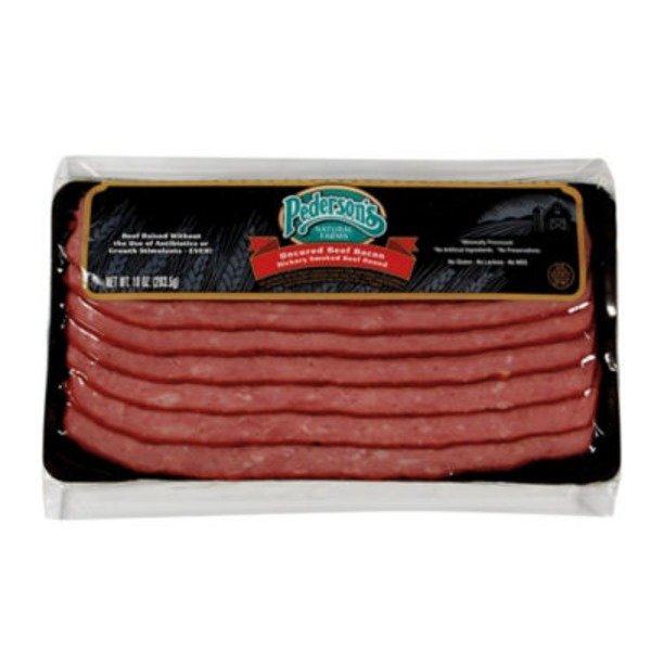 Pederson's Natural Farms Uncured Beef Bacon