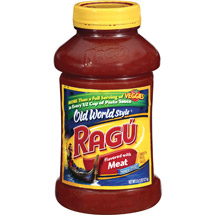 Ragu Old World Style Traditional Meat Sauce