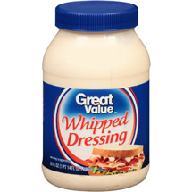Great Value Whipped Dressing