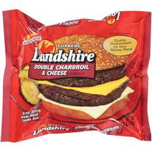 Landshire Supreme Double Charbroil & Cheese Sandwich