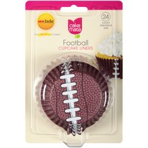 Cake Mate Football Cupcake Liners Standard Size