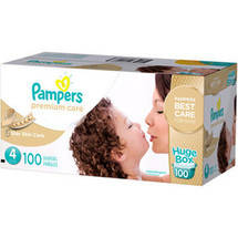 Pampers Premium Care Disposable Diapers Huge Box Size 4