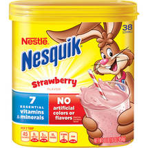 Nestle Nesquik Strawberry Flavor Powder