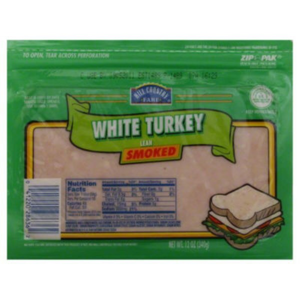 Hill Country Fare White Smoked Turkey