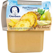 Gerber 2nd Foods Pear Pineapple Baby Food