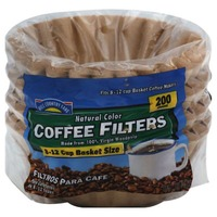Hill Country Fare 8 1/2 Cup Natural Brown Basket Coffee Filters