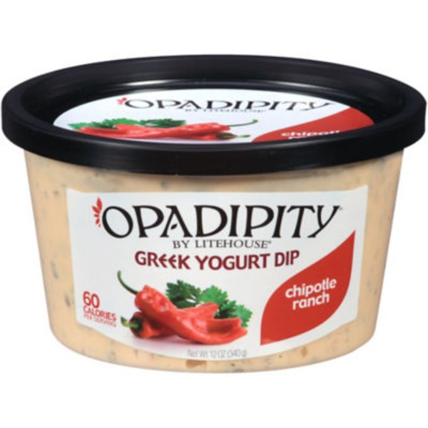 Litehouse Opadipity Greek Yogurt Chipotle Ranch Dip