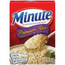 Minute Premium Instant Enriched Long Grain Rice