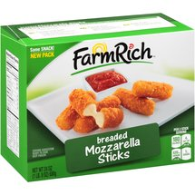 Farm Rich Breaded Mozzarella Sticks