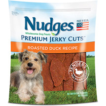 Nudges Roasted Duck Tenders Jerky Dog Treats