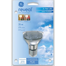 GE reveal;#194;;#174; halogen 35 watt PAR20 floodlight 1-pack