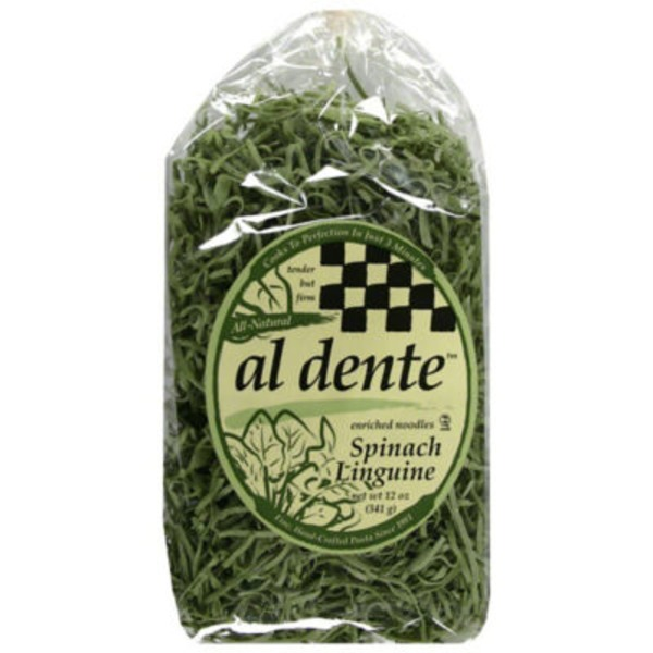 Al Dente Linguine, Spinach