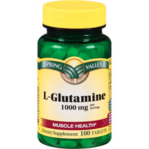 Spring Valley L-Glutamine Tablets