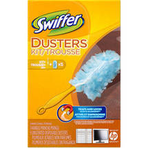 Swiffer Dusters Starter Kit with handle plus 5 refills