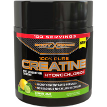 Body Fortress 100% Pure Creatine Hydrochloride Dietary Supplement Lemon Lime Powder