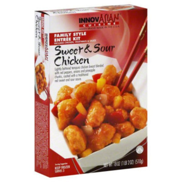 InnovAsian Cuisine Sweet & Sour Chicken