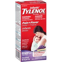Children's Tylenol® Pain & Fever Grape Flavor Infants' Oral Suspension