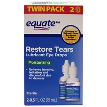 Equate Restore Tears Lubricant Eye Drops