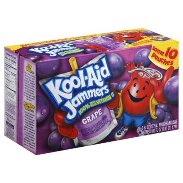 Kool-Aid Jammers Grape Juice Drink