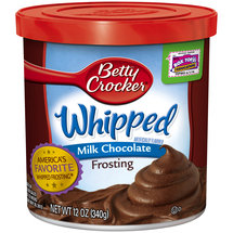 Betty Crocker Milk Chocolate Whipped Frosting