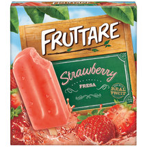 Fruttare Strawberry Ice Bars