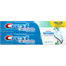 Crest Extra Whitening Mint Twin Pack