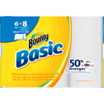 Bounty Basic Select-A-Size Paper Towels Big Rolls White