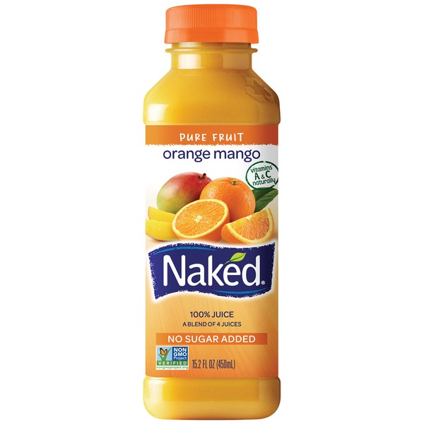 Naked Juice 100% Orange Mango Juice