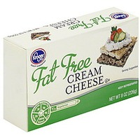 Kroger Fat Free Cream Cheese