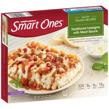 Weight Watchers Smart Ones Classic Favorites Traditional Lasagna with Meat Sauce