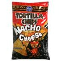 Kroger Nacho Cheese Tortilla Chips