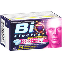 Bio Electro Extra Strength Pain Reliever/Nighttime Sleep Aid Caplets
