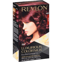 Revlon Luxurious Colorsilk Buttercream Hair Color 48BV Burgandy