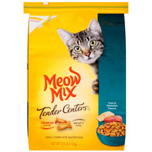 Meow Mix Tender Centers Tuna & Whitefish Flavors Dry Cat Food