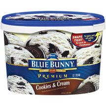 Blue Bunny Premium Cookies & Cream Ice Cream