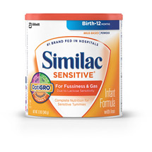 Similac Sensitive 12.6oz Powder