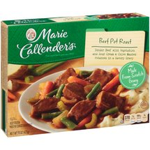 Marie Callender's Old Fashioned Beef Pot Roast With Vegetables