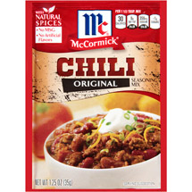 McCormick Original Chili Seasoning Mix