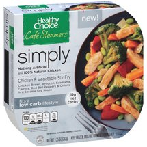 Healthy Choice Cafe Steamers Simply Chicken & Vegetable Stir Fry