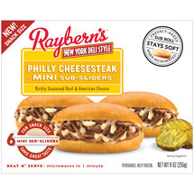 Raybern's Philly Cheesesteak Sub-Sliders