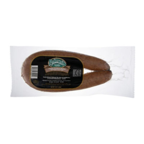 Pederson's Natural Farms Sweet German Brand Smoked Sausage